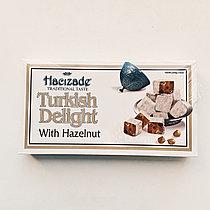 Рахат-лукум Hacizade c Лесным орехом (Турция) 454 гр.