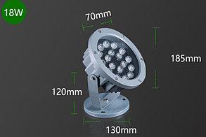 Светодиодный прожектор (Вафельный) 18Вт - Теплый белый (AC220V)