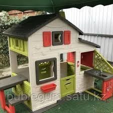 Игровой детский домик со столом и кухней 217*155*172см