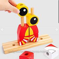 """Пазл Classic World """"Деревянная игрушка""""(лев,лягушка,сова,лиса), фото 3"""