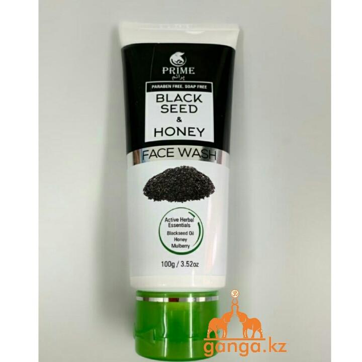 Гель для умывания лица с Черным Тмином и Мёдом (Blackseed and honey face wash PRIME), 100 грамм