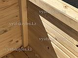 Большой деревянный горшок для цветов 60х60, фото 5