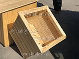 Большой деревянный горшок для цветов 60х60, фото 2
