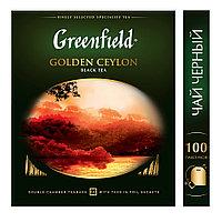 Greenfield Golden Ceylon, black tea 100пак