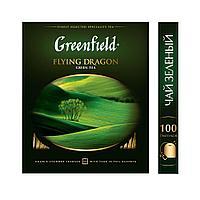 Greenfield Flying Dragon, green tea - 100пак