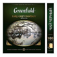 Greenfield Earl Grey Fantasy,black tea(2х100х9)( с бергамотом)