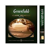 Greenfield Classic Breakfast,black tea-100пак