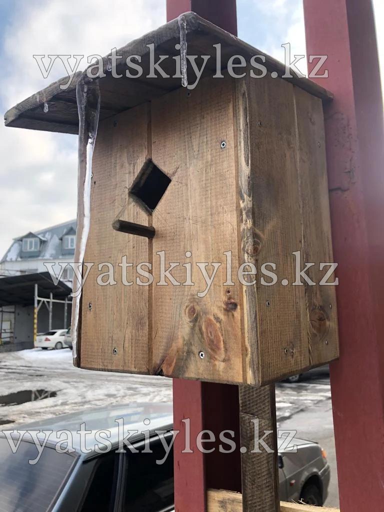 Скворечник деревянный (кормушка для птиц)