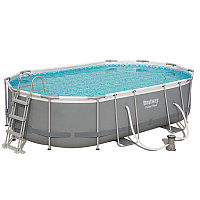 Каркасный бассейн овальный 488х305х107 см Bestway 56448