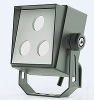 Светодиодный уличный прожектор (квадрат) 3Вт