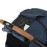 Коляска прогулочная Pituso Toledo с накидкой на ножки Jeans/Джинс, фото 6