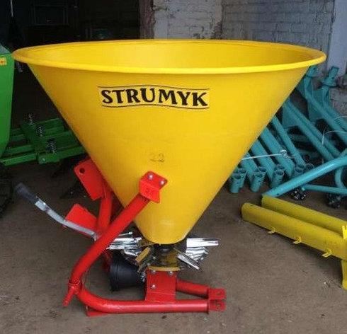Разбрасыватель минеральных удобрений 350L (STRUMYK|Струмик), фото 2