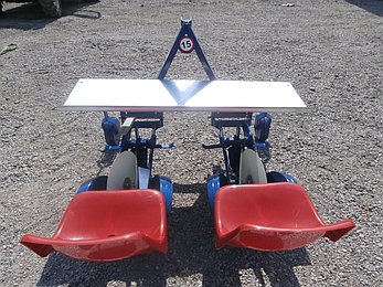 Рассадопосадочная машина D-POL (Д-Пол) 2-х рядная, фото 2