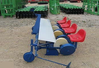 Рассадопосадочная машина D-POL (Д-Пол) 4-х рядная, фото 2