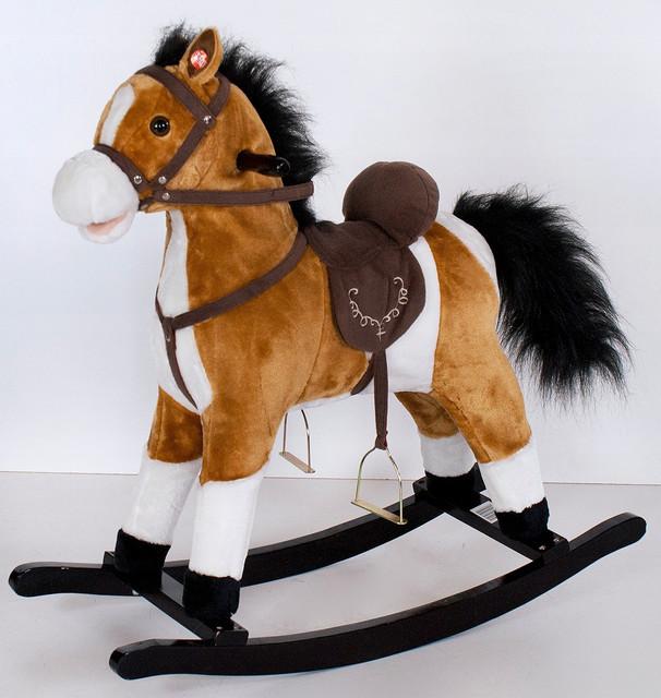 Детские лошадки качалки