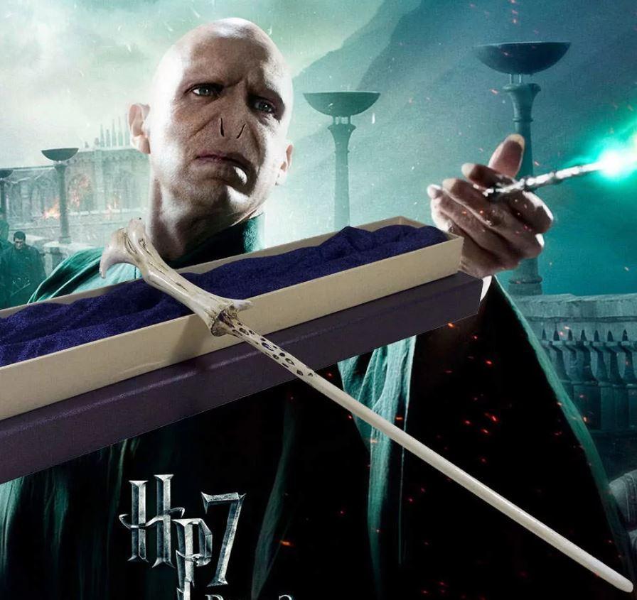 Палочка Воландеморта из Гарри Поттера (с металлическим стержнем)