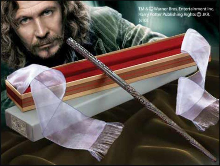 Палочка Сириуса Блэка из Гарри Поттера (с металлическим стержнем)
