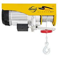 Тельфер электрический, 1 т, 1600 Вт// Denzel