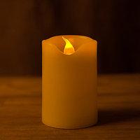 Декоративная LED свеча на батарейках 7,5 см (тёплый свет)