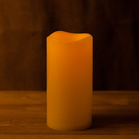 Декоративная LED свеча на батарейках 12,5 см (тёплый свет)