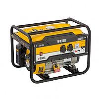 Генератор бензиновый PS 25, 2,5 кВт, 230В, 15л, ручной стартер// Denzel, фото 1