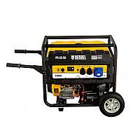 Генератор бензиновый PS 55 EA, 5,5 кВт, 230В, 25л, коннектор автоматики, электростартер// Denzel, фото 1