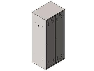 Шкаф LS-21-80 глубиной 600