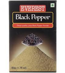 Черный перец, молотый, 100 гр, Everest