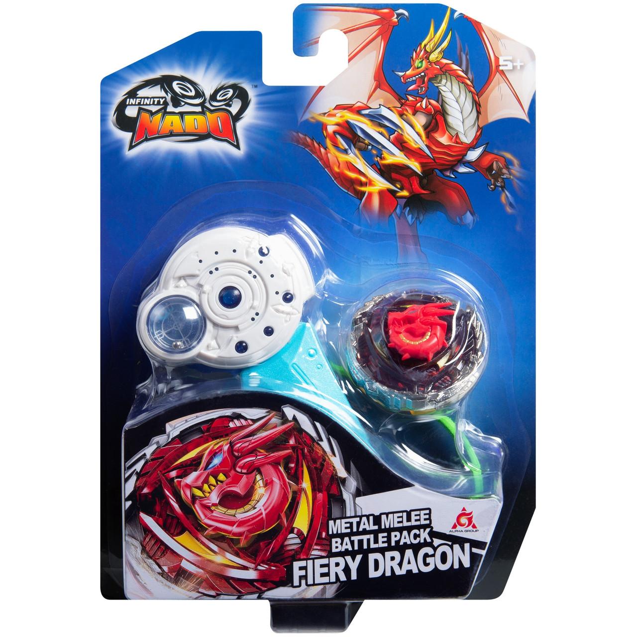 Инфинити Надо Волчок «Классик» Fiery Dragon, Огненный Дракон, нападение