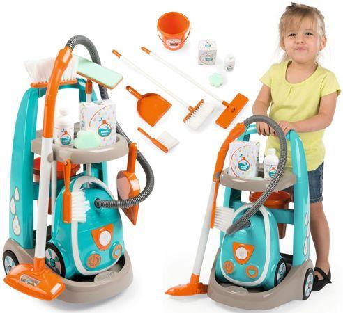 Детский игровой набор для уборки с тележкой Smoby 330309