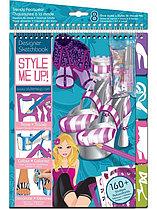 STYLE ME UP! Альбом с трафаретами Модная обувь