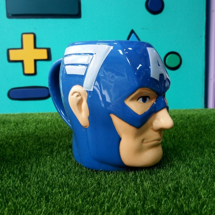 3-D Кружка Капитан Америка