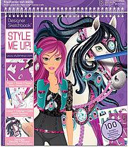 STYLE ME UP! Альбом с трафаретами Модная наездница