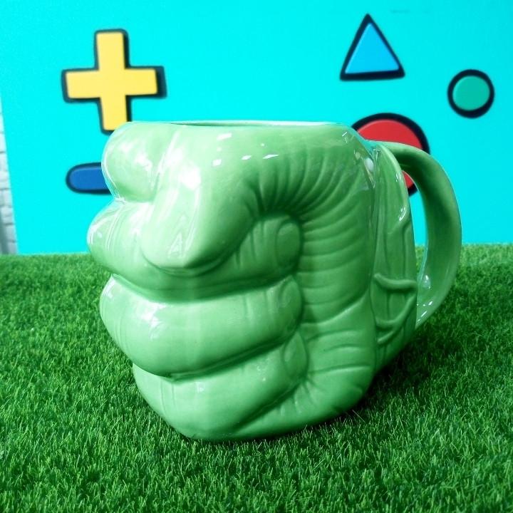 3-D Кружка Рука Халка