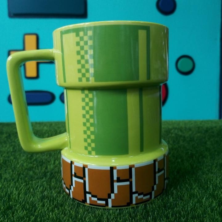 3-D Кружка Марио