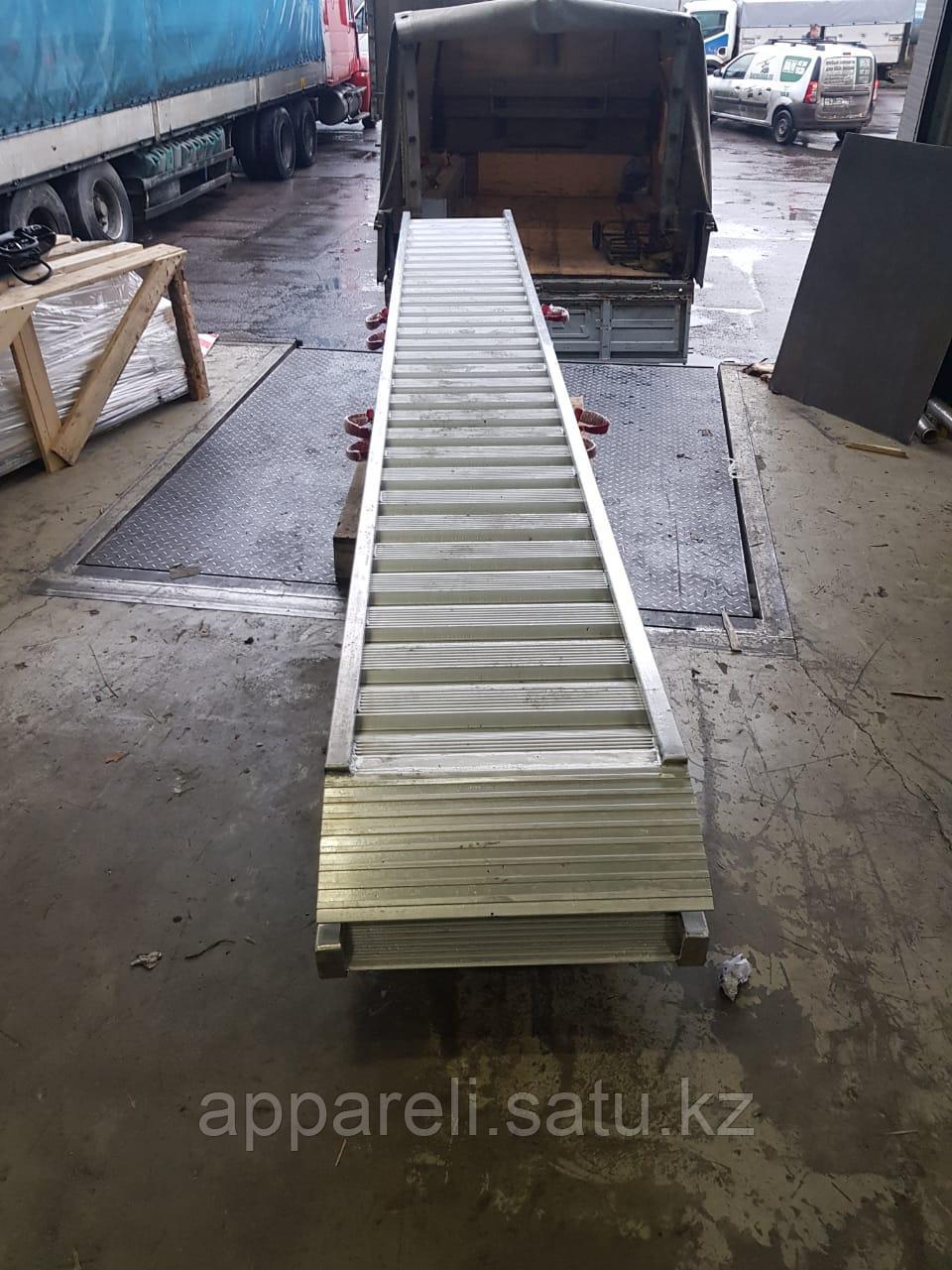 Погрузочные рампы из алюминия (аппарели / трапы) 9 тонн