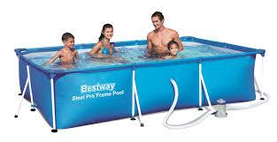 Каркасный бассейн Bestway 56411, Steel Pro Frame Pool, размер 300x200