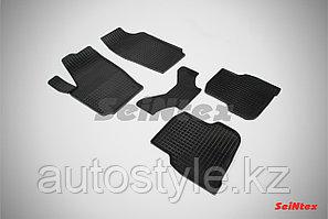 Коврики салона Резиновые Сетка для Volkswagen Polo Sedan 2010-н.в.