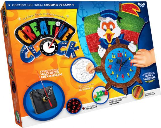 "Набор для творчества ""Часы ""Creative clock- Утёнок"""