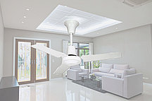 Потолочный вентилятор с металлическими лопастями 3 режима