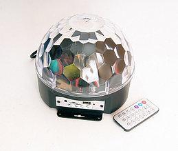 Светодиодный эффект «диско-шар» большой, 9х1Вт, RGBWAYOPG Bi Ray ML001