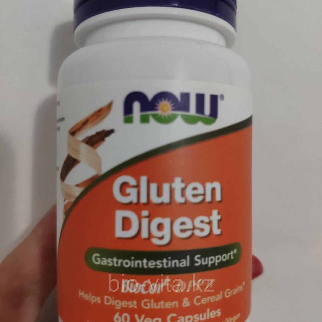 Gluten Digest, фермент для расщипления глютена 60  капсул.