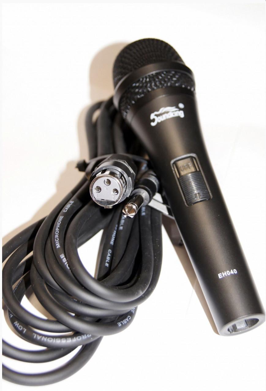 Шнуровой микрофон Soundking EH040