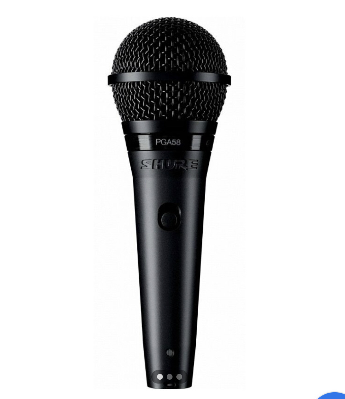 Шнуровой микрофон Shure PGA58-XLR