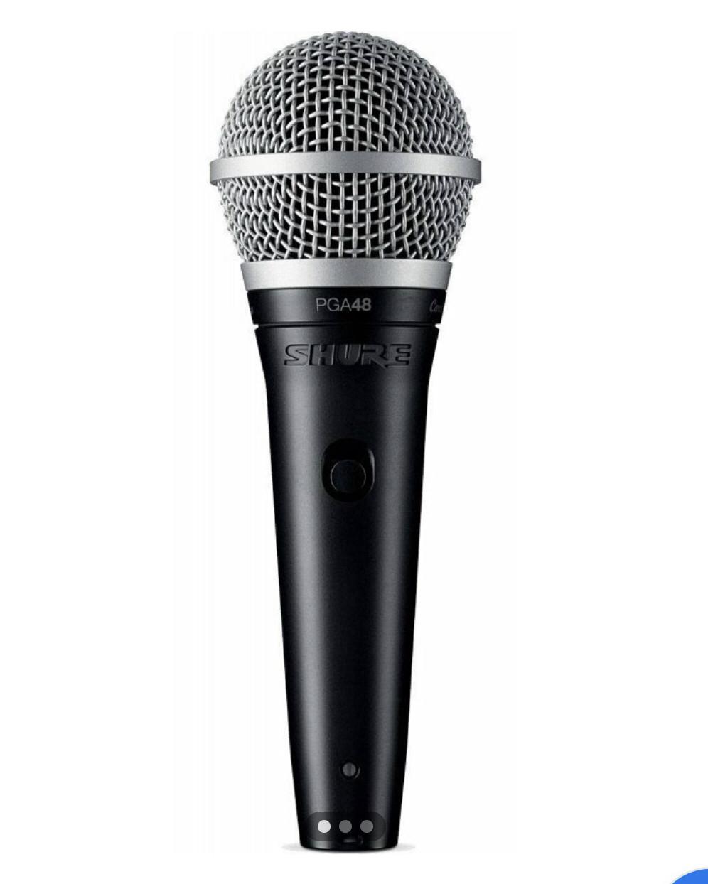 Шнуровой микрофон Shure PGA48-XLR