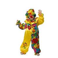 Карнавальный костюм 'Клоун сказочный', сатин, размер 34, рост 128 см
