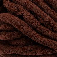 Пряжа 'Adelia Dolly' 100 полиэстер 40м/100гр (08 коричневый)