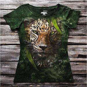 """""""Леопард"""" Женская футболка варенка с 3D принтом"""