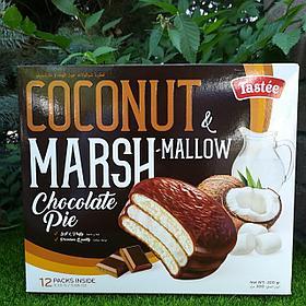 Coconut Marshmallow Chocolate Pie (со вкусом кокоса)