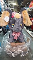 Детская качалка Слоник с бантом СибМишка, фото 1
